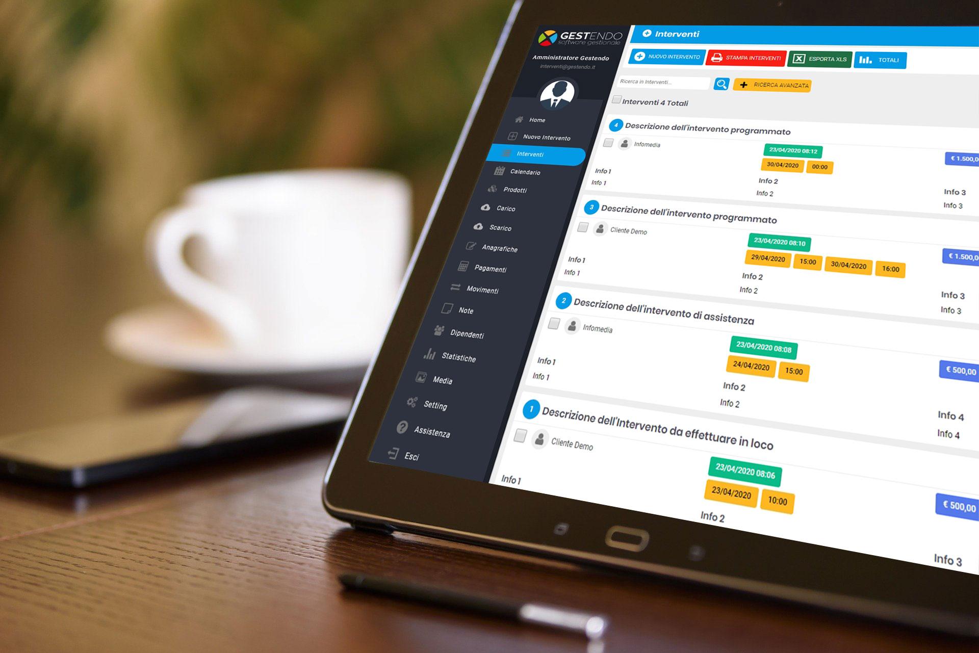 gestendo software gestionale cloud